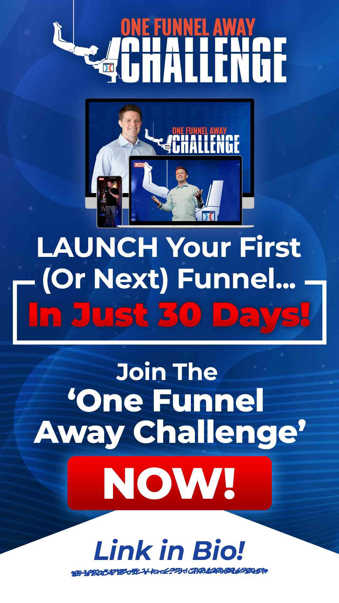 One Funnel Away Challenge ClicksFunnels